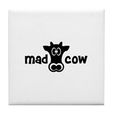 Mad Cow Tile Coaster