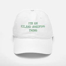 Iceland Sheepdog thing Baseball Baseball Cap