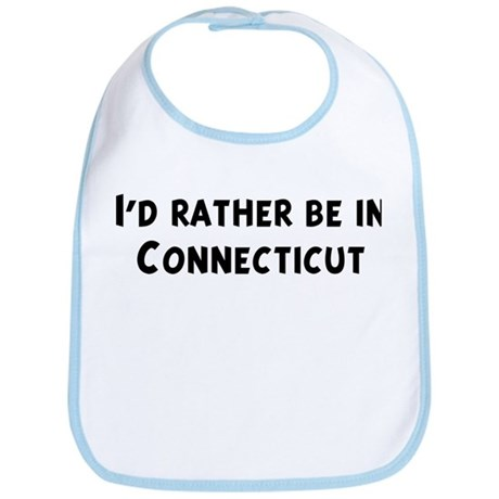 Rather be in Connecticut Bib