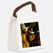 Saint Cecilia and the Angel by Sa Canvas Lunch Bag