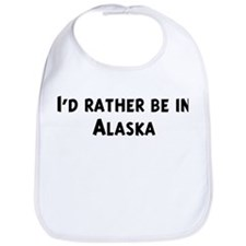 Rather be in Alaska Bib