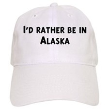 Rather be in Alaska Baseball Cap