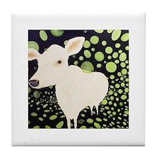 Party Cow Tile Coaster