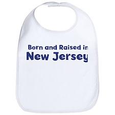 Raised in New Jersey Bib