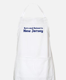 Raised in New Jersey BBQ Apron