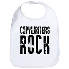 Copywriters Rock Bib