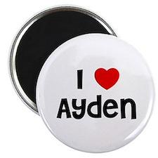"""I * Ayden 2.25"""" Magnet (10 pack)"""