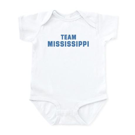Team MISSISSIPPI Infant Bodysuit