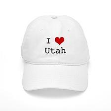 I Love Utah Baseball Cap