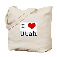 I Love Utah Tote Bag