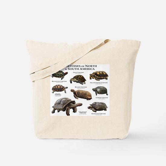Tortoises of North & South America Tote Bag