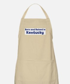 Raised in Kentucky BBQ Apron