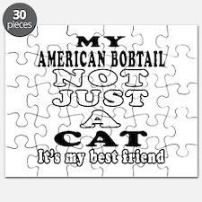 American Bobtail Cat Designs Puzzle