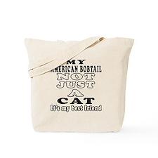 American Bobtail Cat Designs Tote Bag