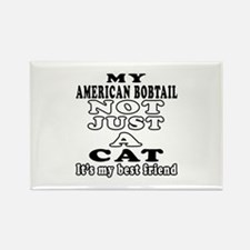 American Bobtail Cat Designs Rectangle Magnet