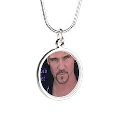 Indio Poet Silver Round Necklace