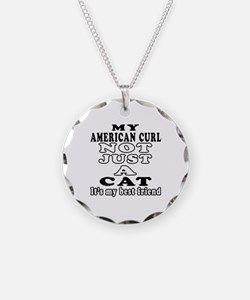 American Curl Cat Designs Necklace