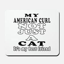 American Curl Cat Designs Mousepad