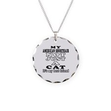 American Shorthair Cat Designs Necklace