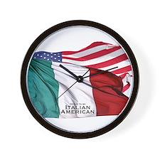 italianamerican Wall Clock