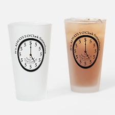 ALWAYS 5 O'CLOCK SOMEWHERE Drinking Glass