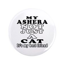 "Ashera Cat Designs 3.5"" Button"