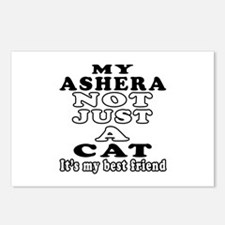 Ashera Cat Designs Postcards (Package of 8)