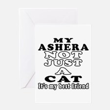 Ashera Cat Designs Greeting Card