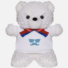 Stars Sunglasses Mustache Teddy Bear