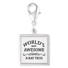 World's Most Awesome X-Ray Tech Silver Square Char
