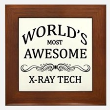 World's Most Awesome X-Ray Tech Framed Tile