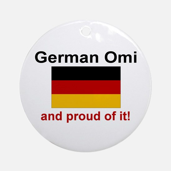 German Omi (Grandma) Ornament