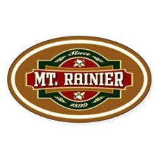 Mt. Rainier Old Label Decal