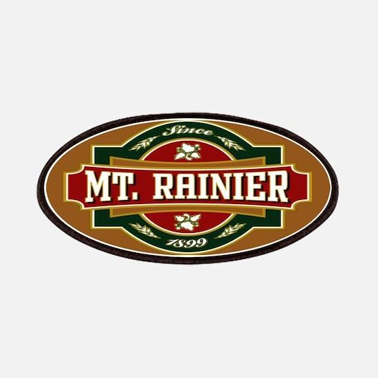 Mt. Rainier Old Label Patches