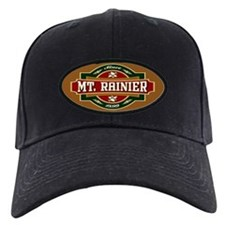 Mt. Rainier Old Label Baseball Hat