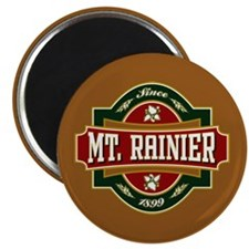 Mt. Rainier Old Label Magnet