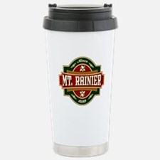 Mt. Rainier Old Label Travel Mug