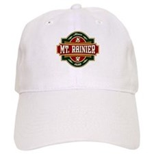 Mt. Rainier Old Label Baseball Cap