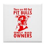 Bull terrier coaster Drink Coasters