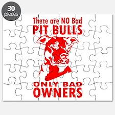 NO BAD PIT BULLS Puzzle