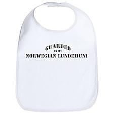 Norwegian Lundehund: Guarded  Bib