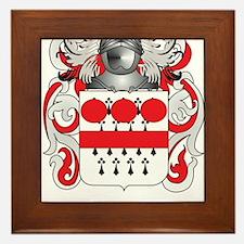 Desmond Coat of Arms Framed Tile