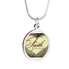 faith is grunge heart Necklaces