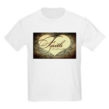 faith is grunge heart T-Shirt