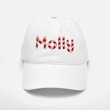 Molly - Candy Cane Baseball Baseball Cap