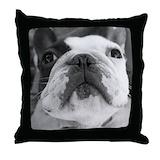 French bulldog Throw Pillows
