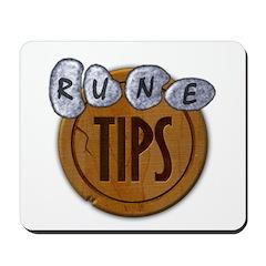 Tip.It Classic Wood Logo Mousepad