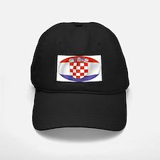 Pure Flag of Croatia Baseball Hat