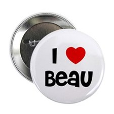 "I * Beau 2.25"" Button (10 pack)"
