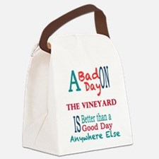 The Vineyard Canvas Lunch Bag
